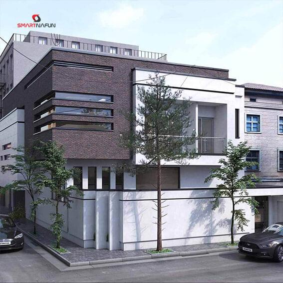 پروژه مسکونی تریبلکس شاهین شهر